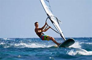 Sport in spiaggia e in mare